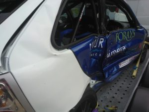 Jack Roberst crash car 040215