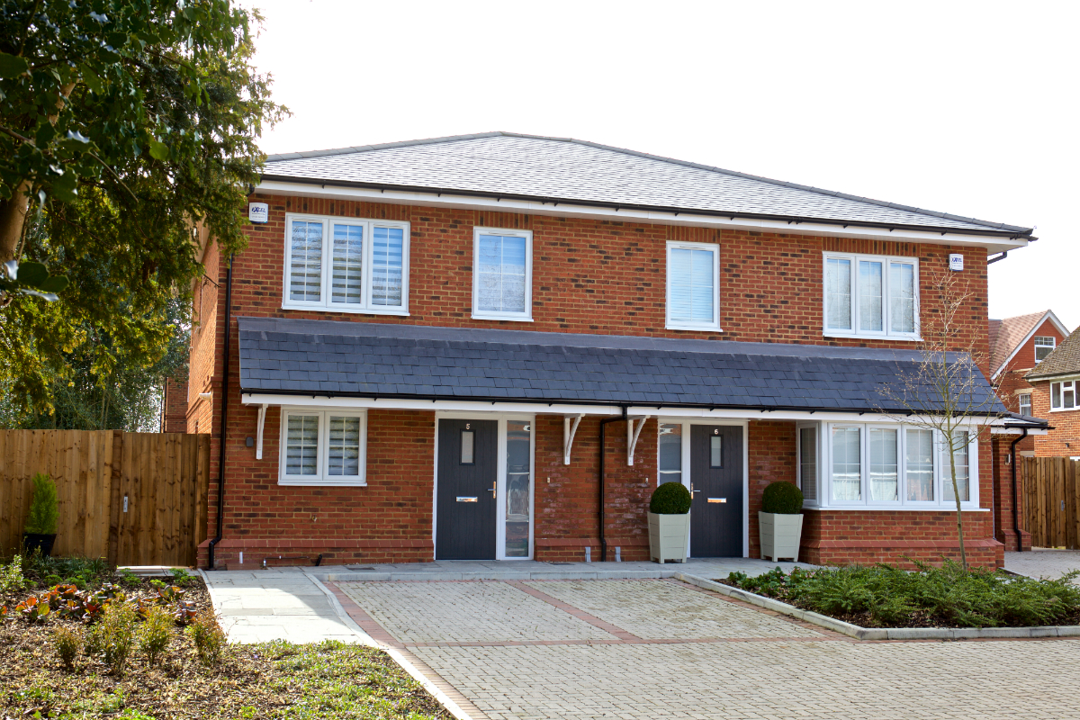 Binfield development is complete and sold