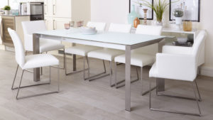 eve-white-frosted-glass-with-brushed-stainless-steel-and-monti-leather-extending-dining-set-1