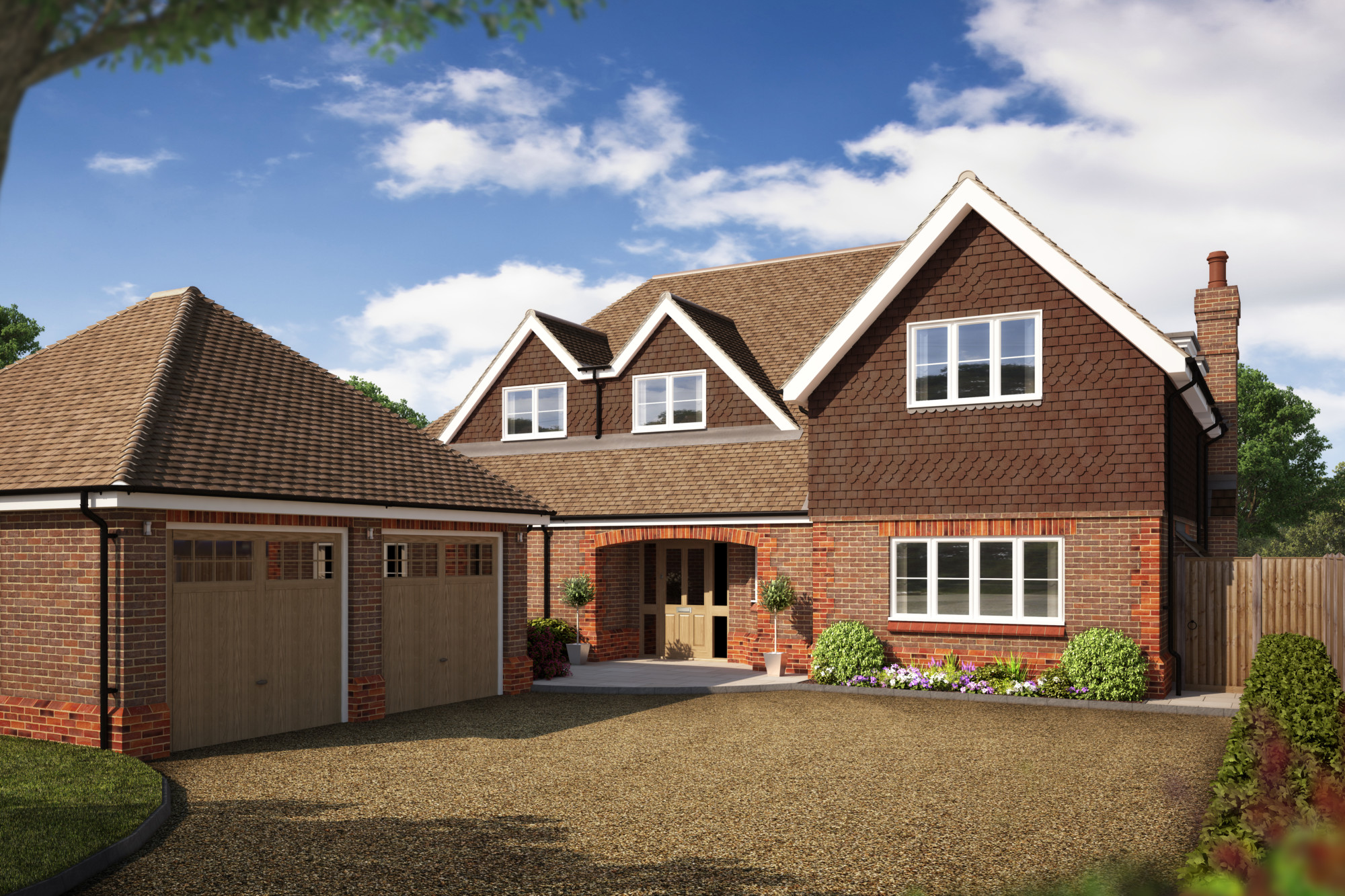 Only two plots left at  Oakfields School, Pryford