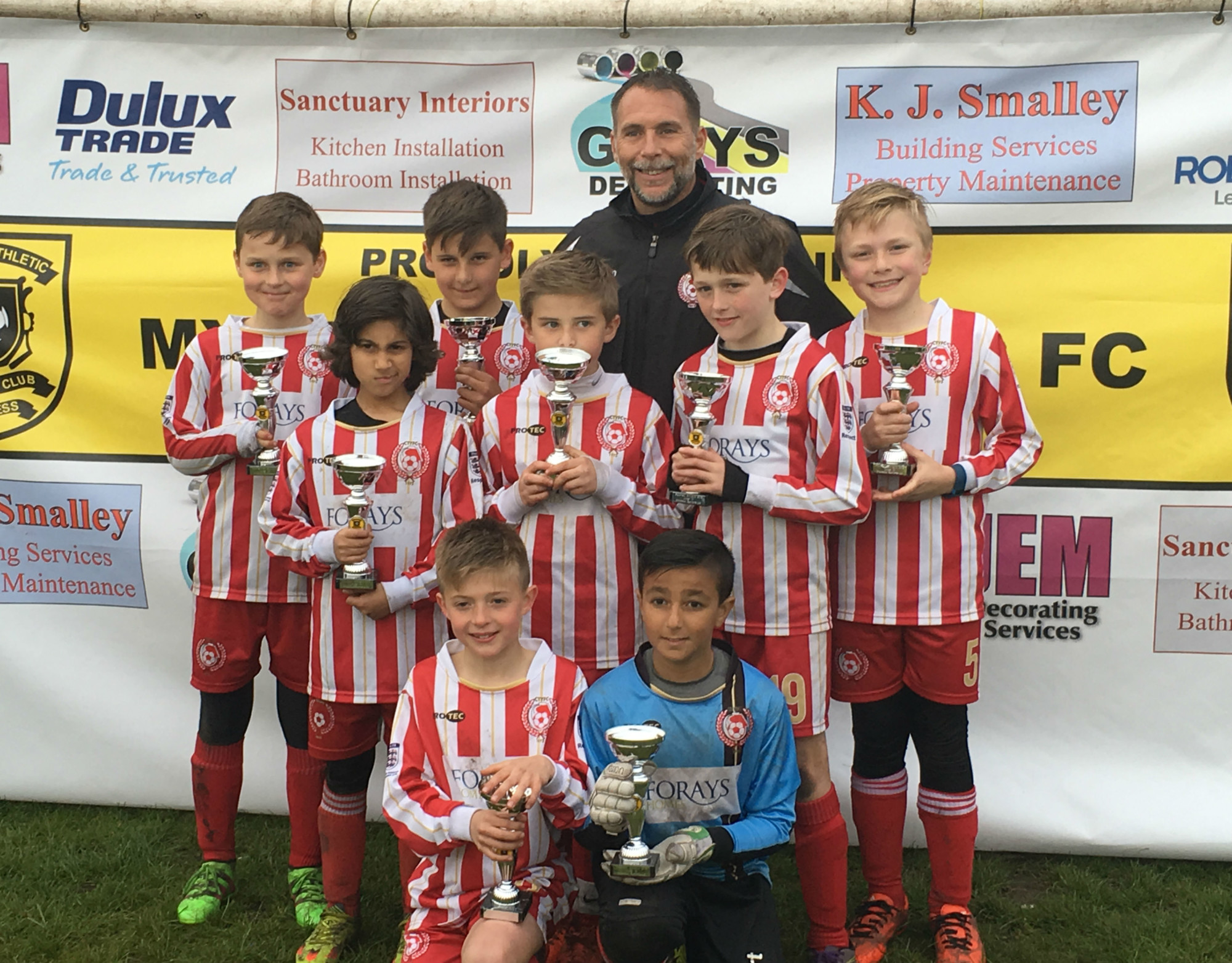 Proud sponsors of Camberley Town Youth FC