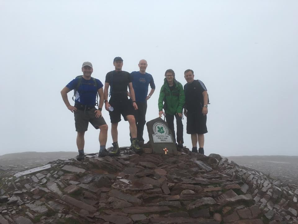 Forays Conquer the Welsh Three Peaks Challenge