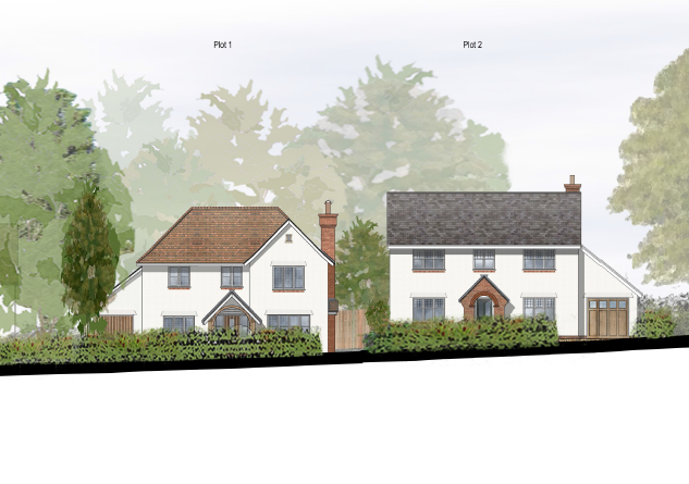 Planning permission submitted in the lovely village of Windlesham