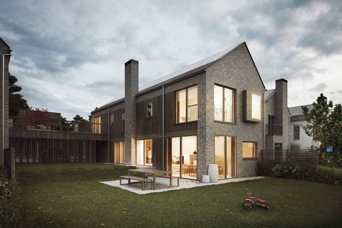 Grand ideals for UK self-build housing