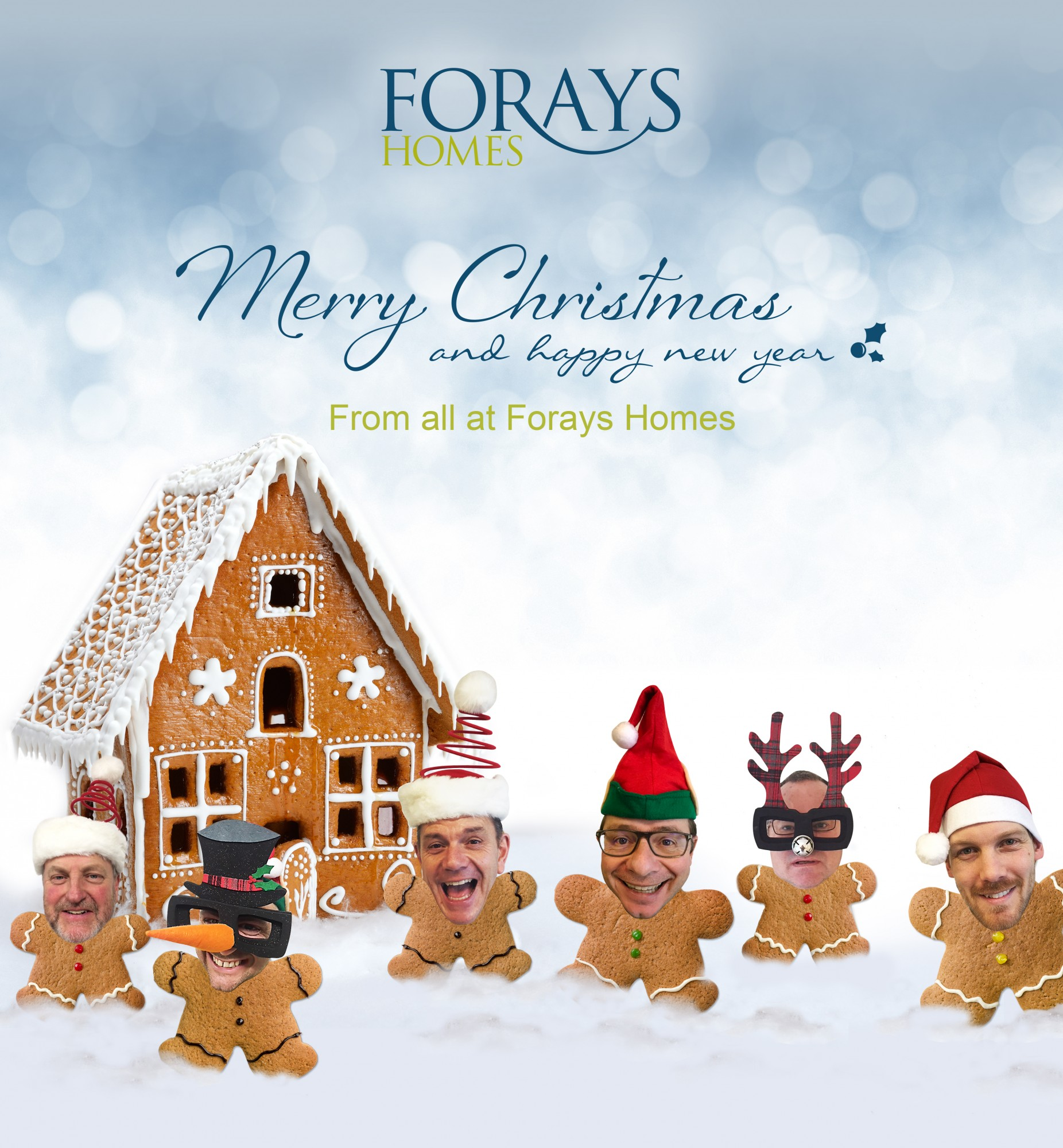 Merry Christmas and Happy New Year from all the team at Forays Homes