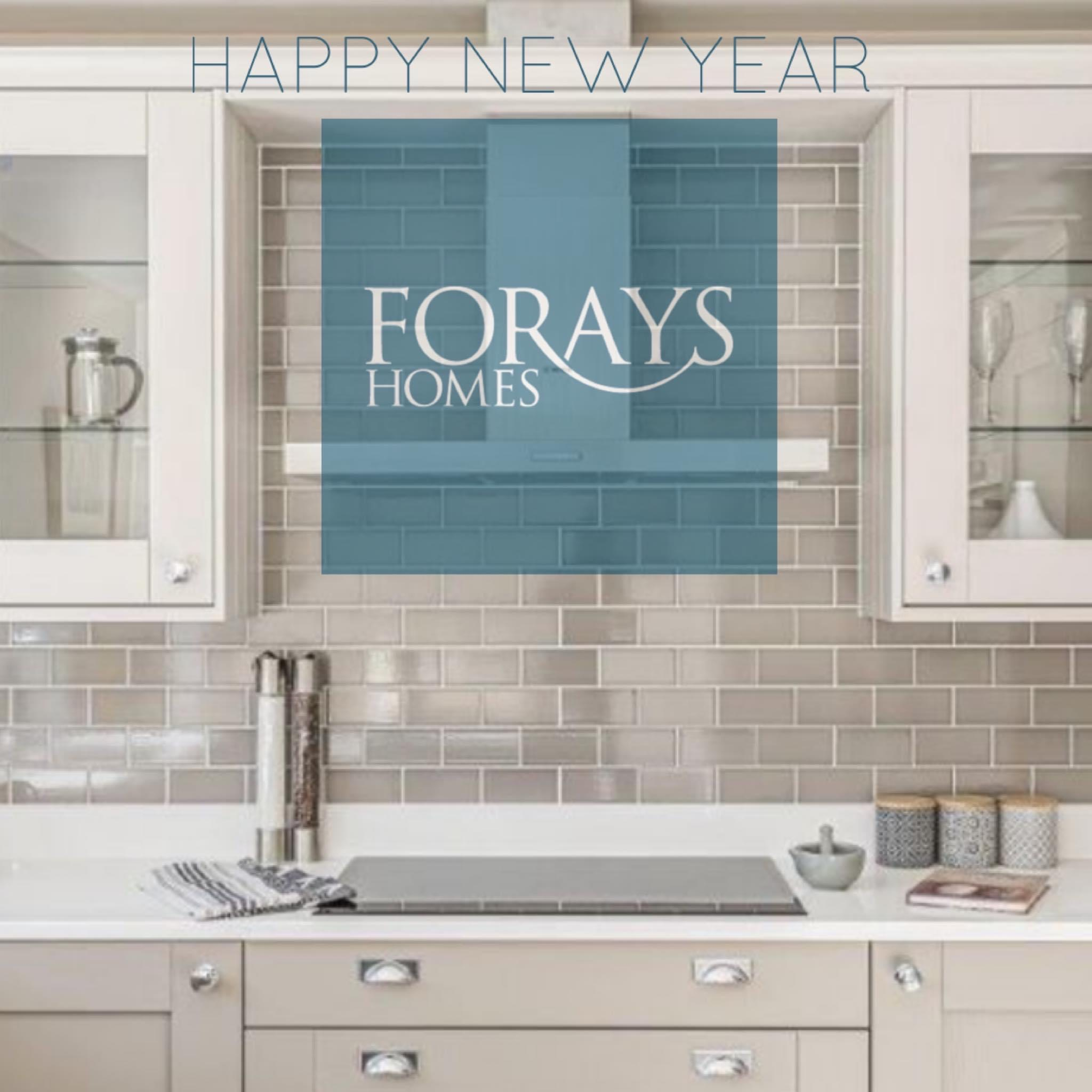 Happy New Year from all of us at Forays Homes